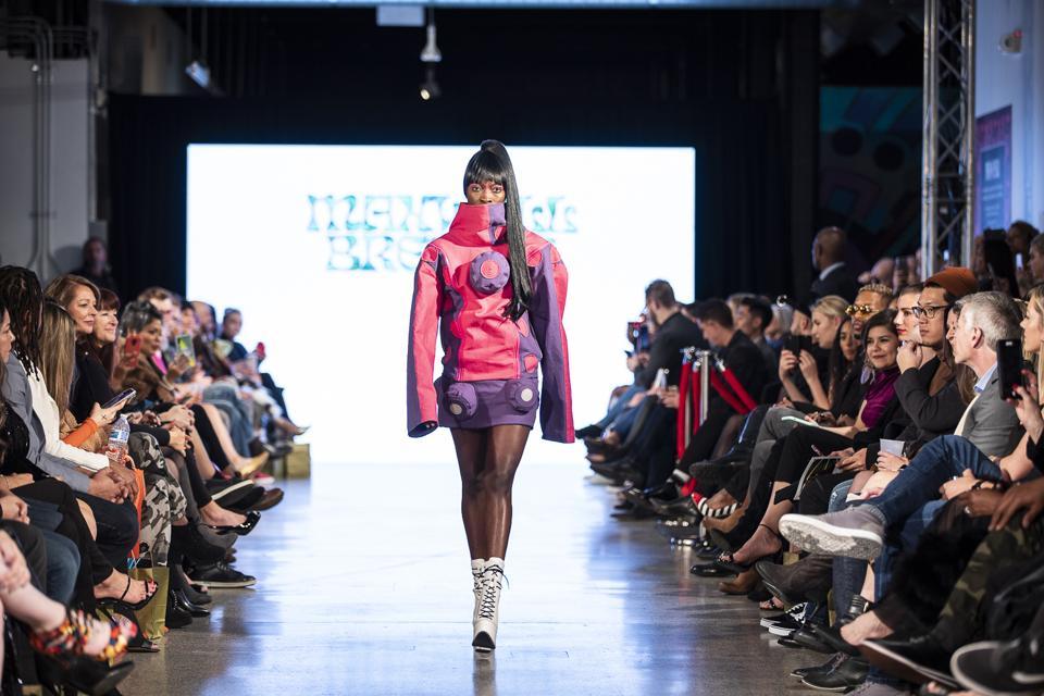 Maxwell Bresler runway show during Denver Fashion Week