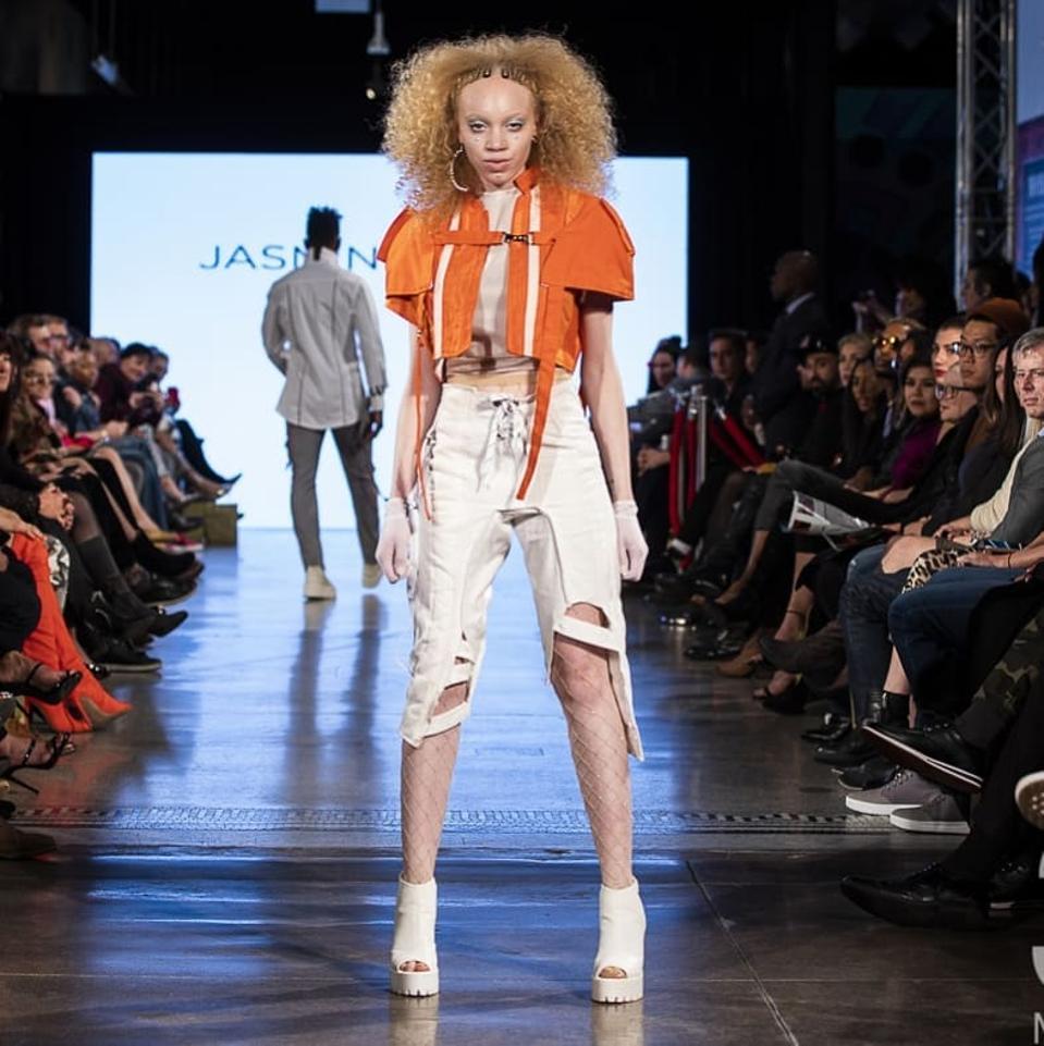 Jasmin Lewis runway show during Denver Fashion Week