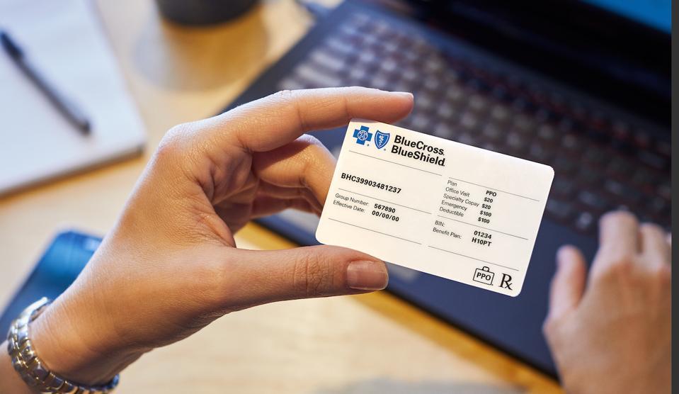 Blue Cross Card