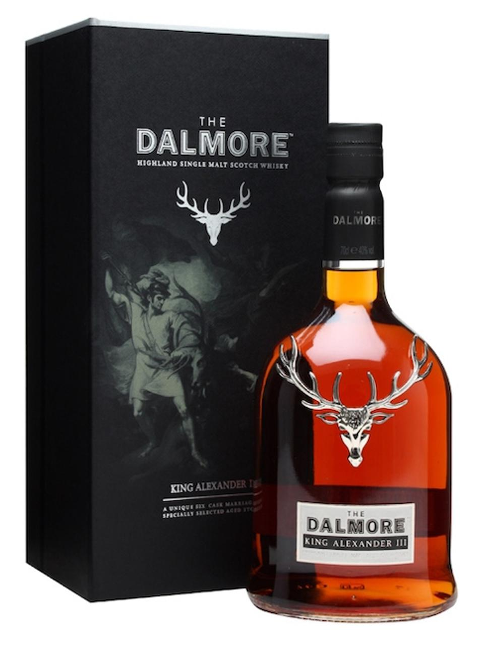 Best Scotch Whiskies_Dalmore King Alexander III