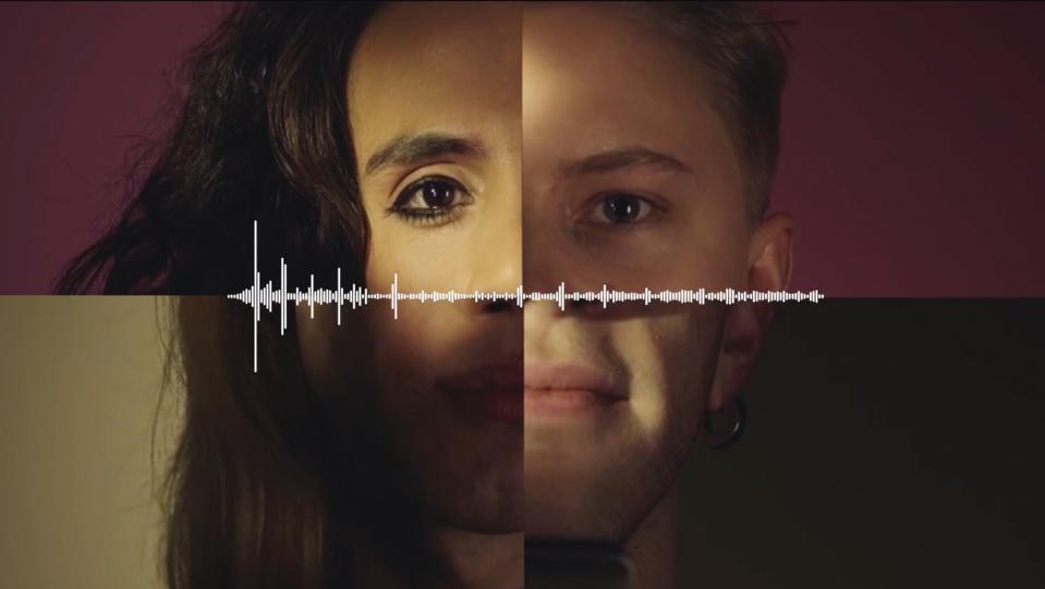 Q, The Genderless Voice, 2019. Emil Asmussen (Danish, born 1987) and Ryan Sherman (English, born 1992. Digital audio file. Courtesy of Virtue Nordic, Copenhagen, and the artists.