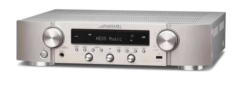Silver-gold Marantz NR12000 stereo receiver