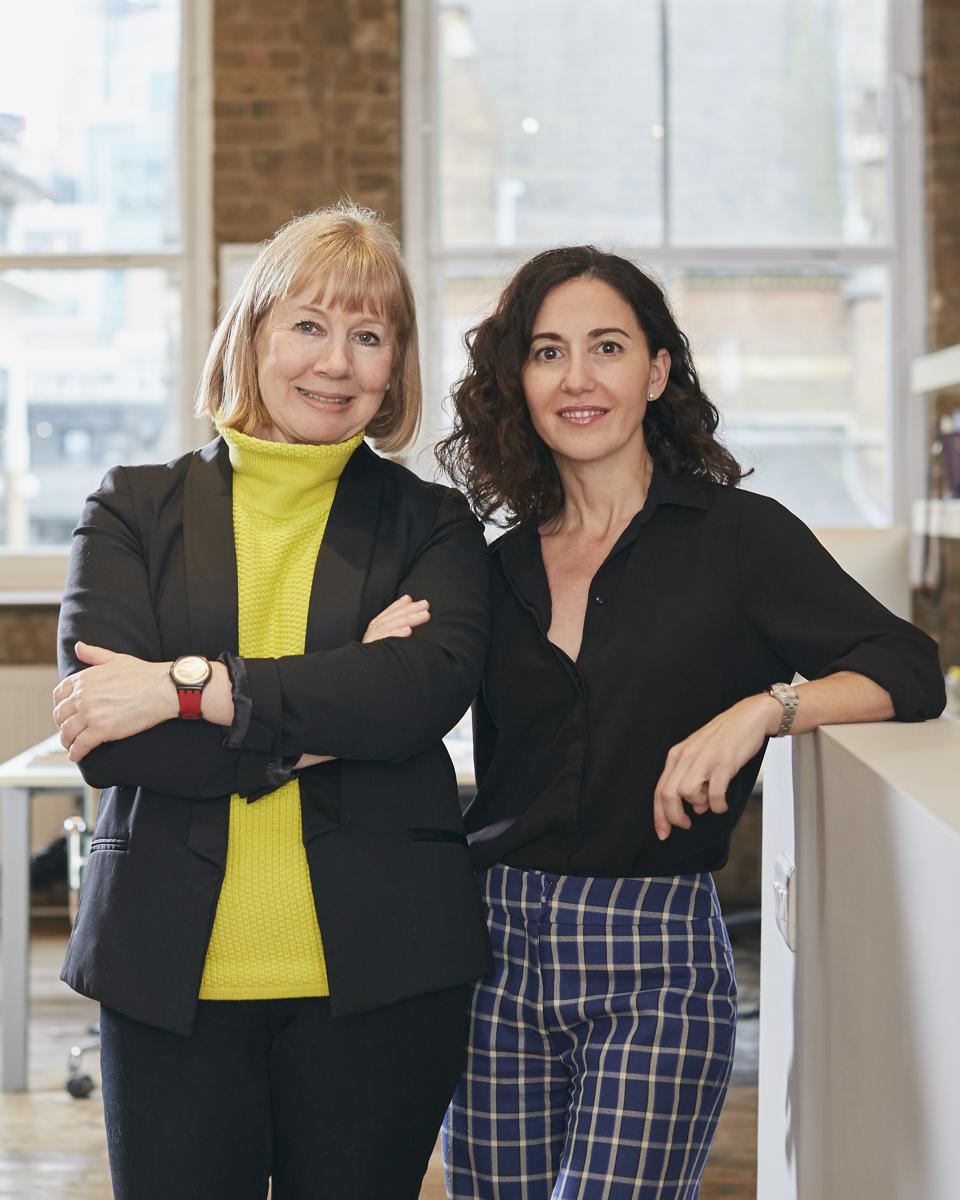 Karen Hanton and Diana Verde Nieto