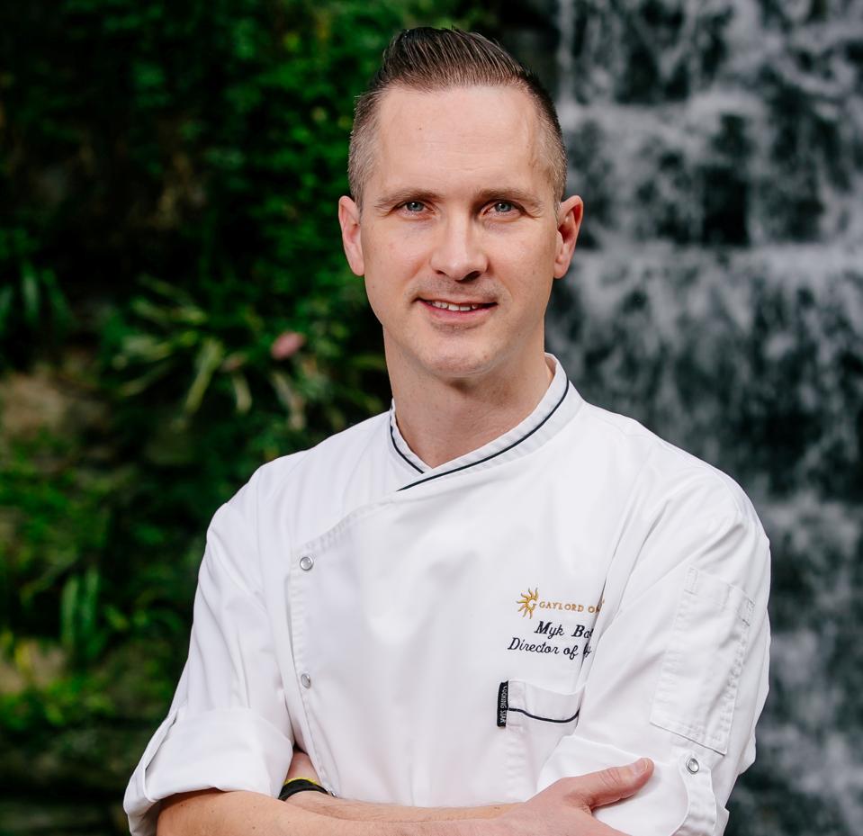 Myk Banas, Director of Culinary, Marriott Convention & Resort Network.