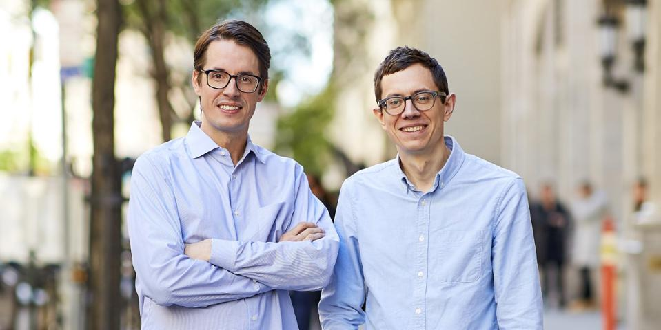 Clubhouse founders Kurt Schrader, CEO, and Andrew Childs, chief design officer.