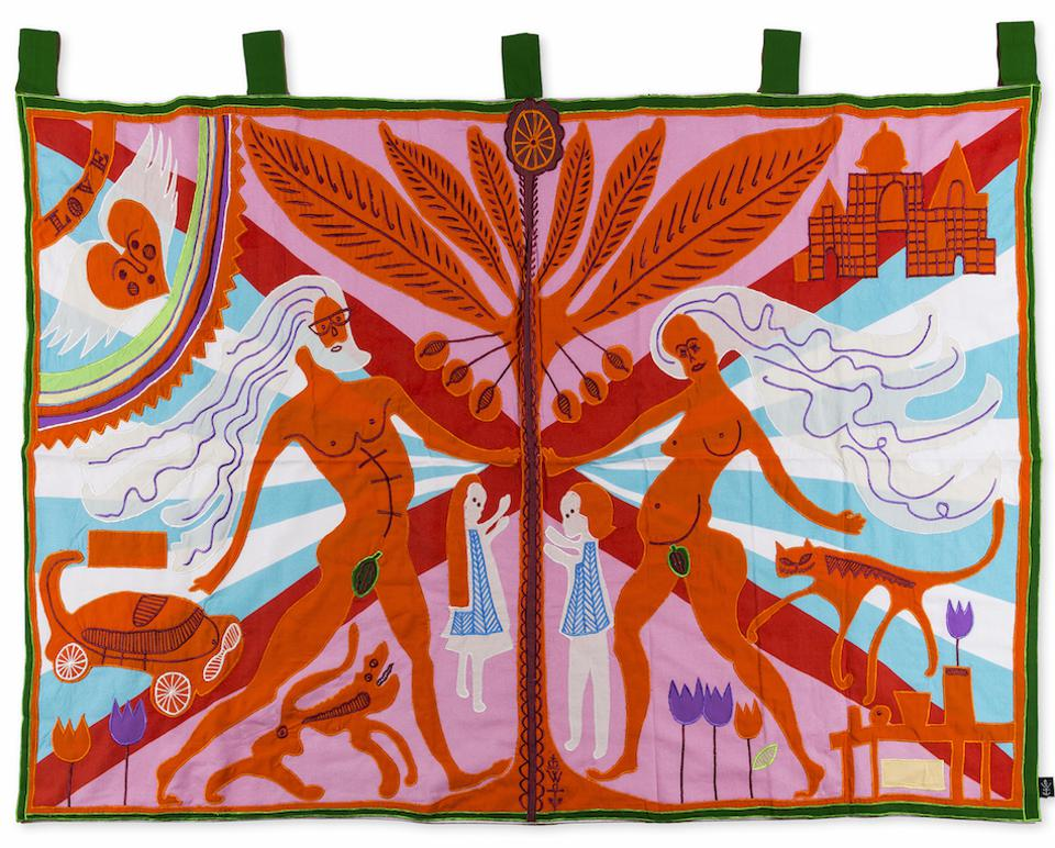 Grayson Perry, Marriage Flag