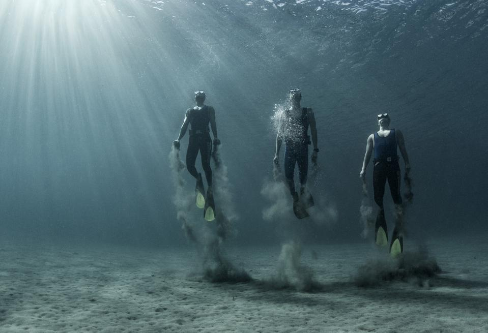Free diving in the Aegan Sea, Oceans, Seas, Rivers, Lakes