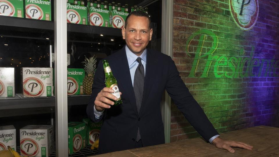 Baseball star Alex Rodriguez is becoming chairman of the Dominican beer brand, Presidente.