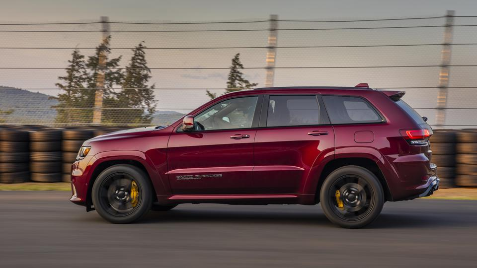 The Jeep Grand Cherokee Trackhawk can leap to 60 mph in a mere 3.5 seconds, but it's among the most environmentally harmful rides on the road, according to a new report.