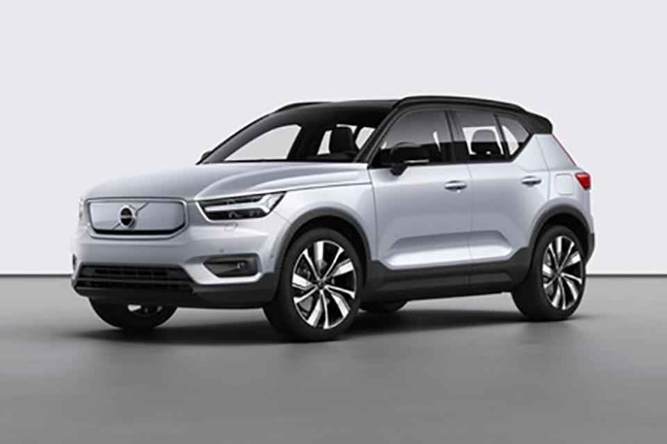 Volvo's first all-electric SUV, the XC40 Recharge.