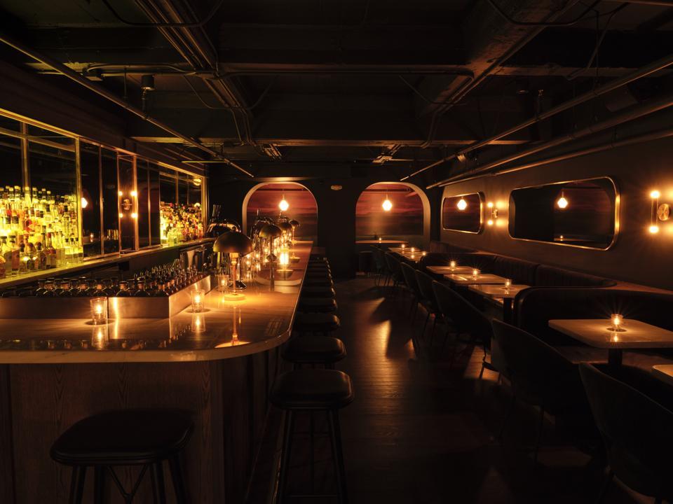 The Main Bar at Death & Co Los Angeles