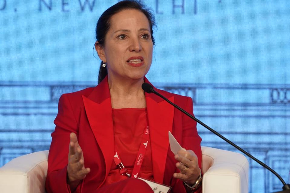 On India Trade Mission, California Lt. Gov. Eleni Kounalakis Seeks To Grow The Economy — And Protect The Environment