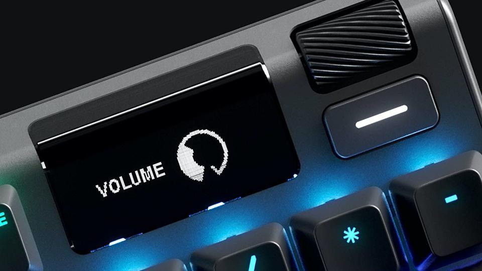 Apex Pro OLED screen
