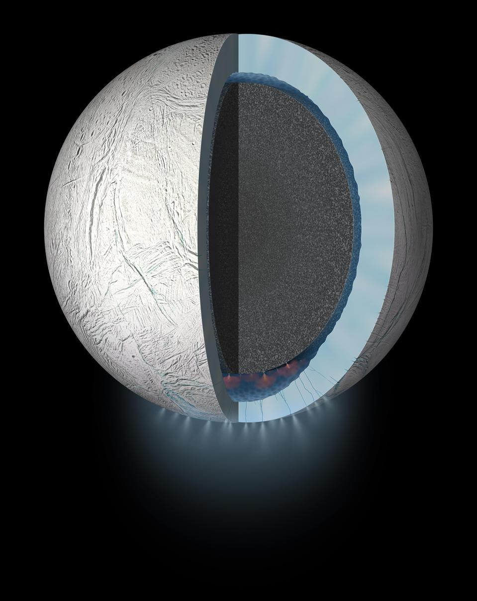 Enceladus' Subsurface May Be Even More Habitable Than Previously Thought, Say New Models