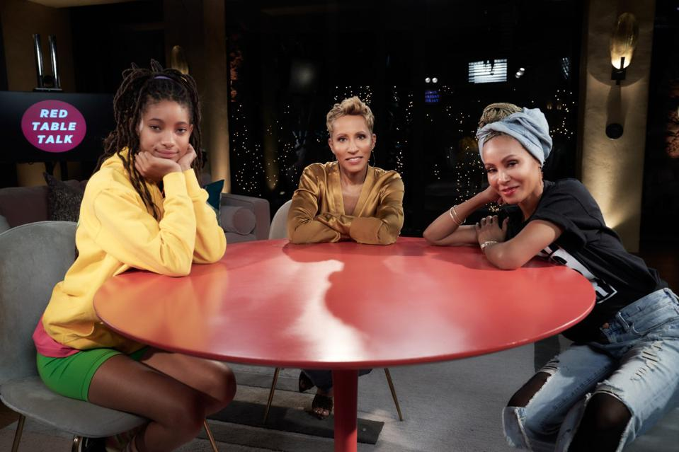 Red Table Talk hosts.