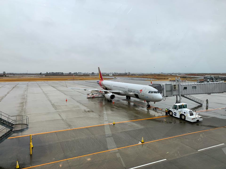 A321 in Sendai