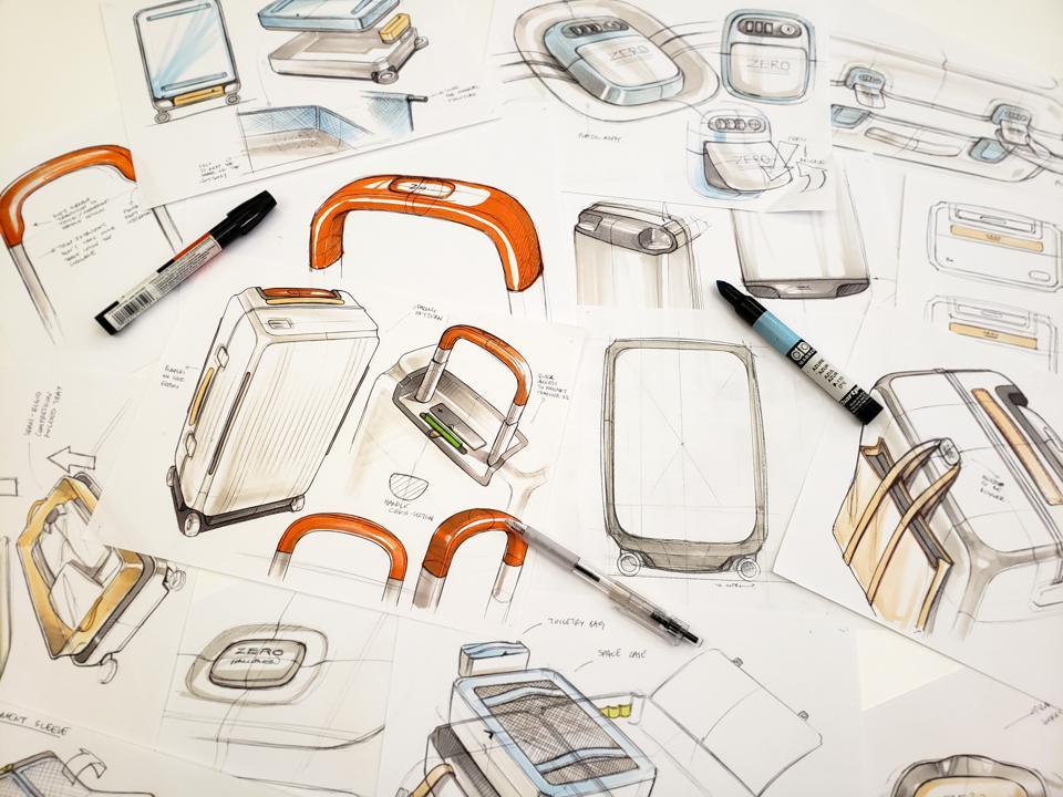 Sketching ideas for Zero Halliburton