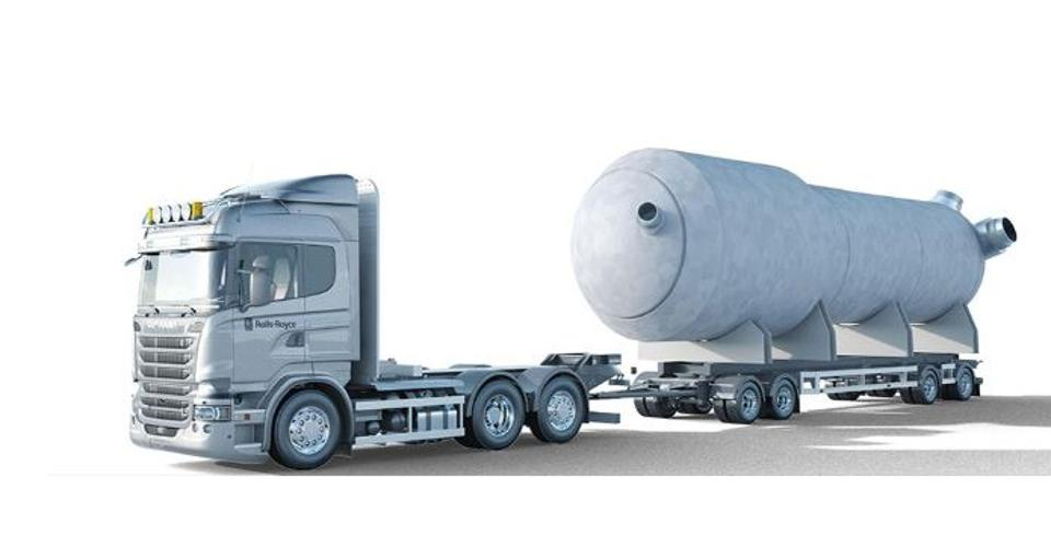 'Mini' nuclear reactors delivered in prefabricated chunks on the back of trucks