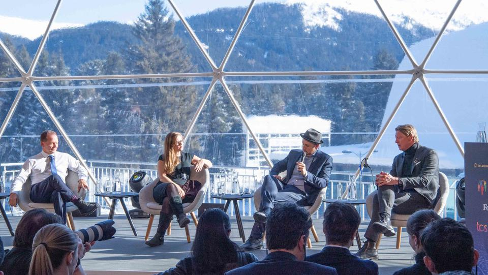 ″Reimagining Capitalism″ panel at Sustainability in Action