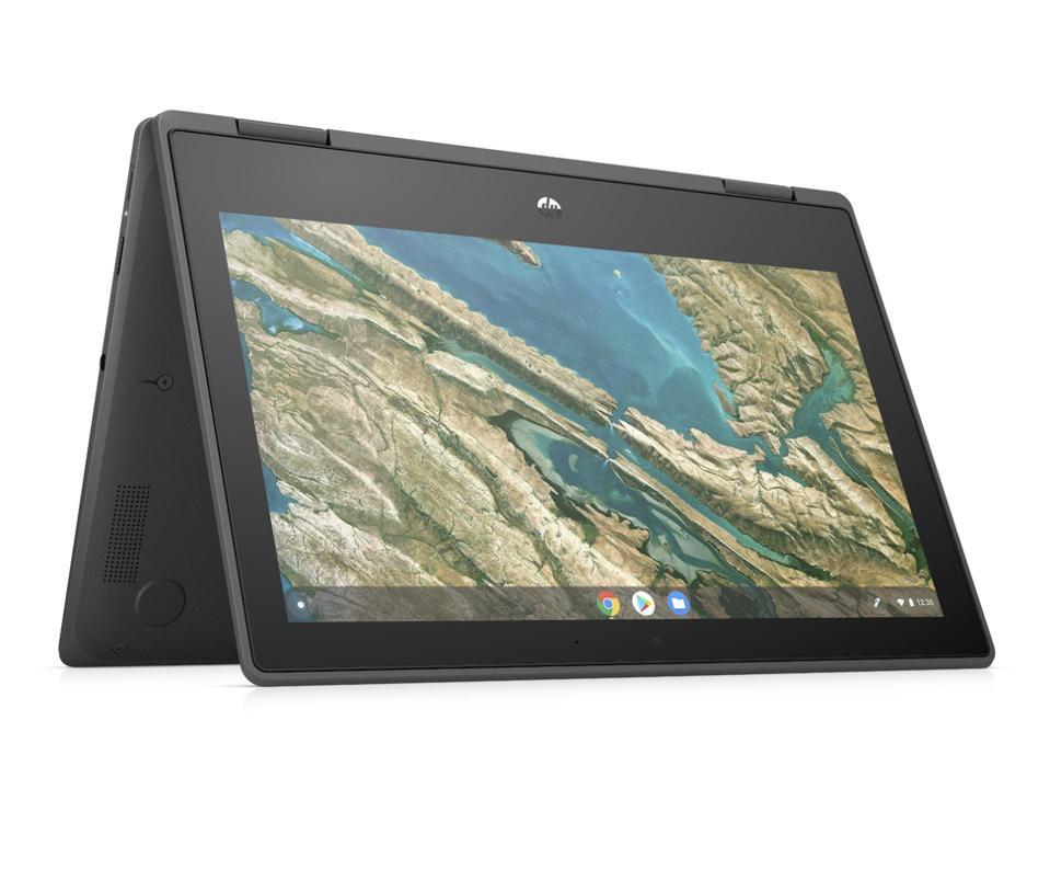 The Chromebook x360 11 G3 EE.