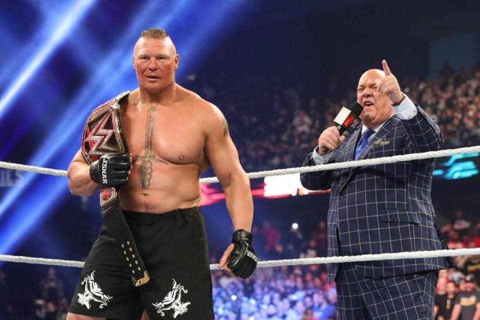 WWE Royal Rumble 2020 Brock Lesnar