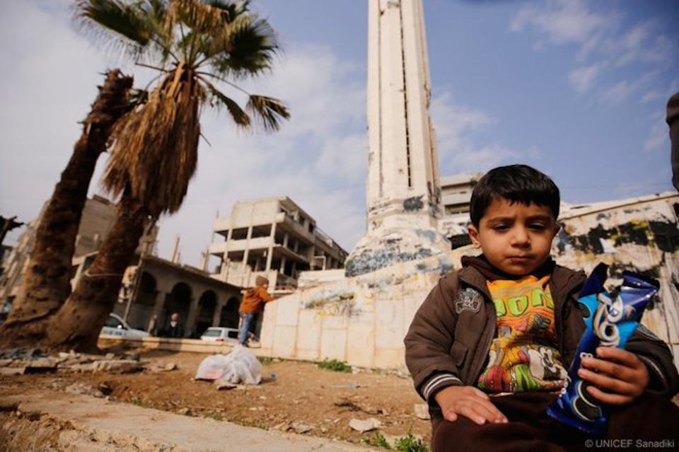 ″In the eight years since the conflict in Syria started, 4 million babies have been born,″ UNICEF Executive Director Henrietta Fore tweeted. ″That's almost half the child population in the country; 4 million children who have known nothing but war. ″