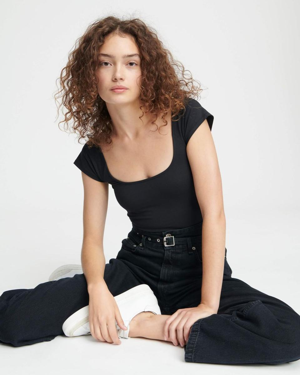 Rag & Bone Jeans and BodySuit