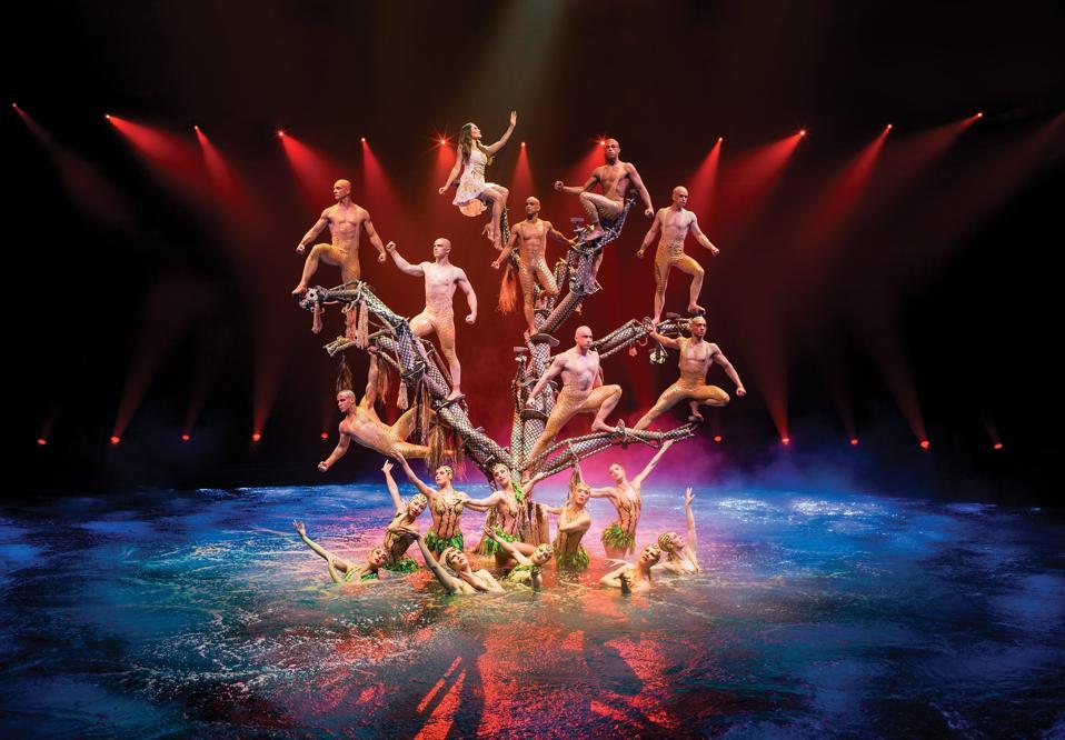 Las Vegas Audiences Keep Large Scale Acrobatic Productions Flying Higher
