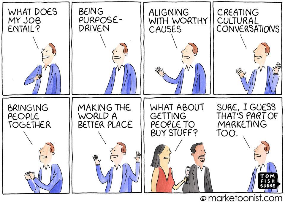 Comic-Brand Purpose