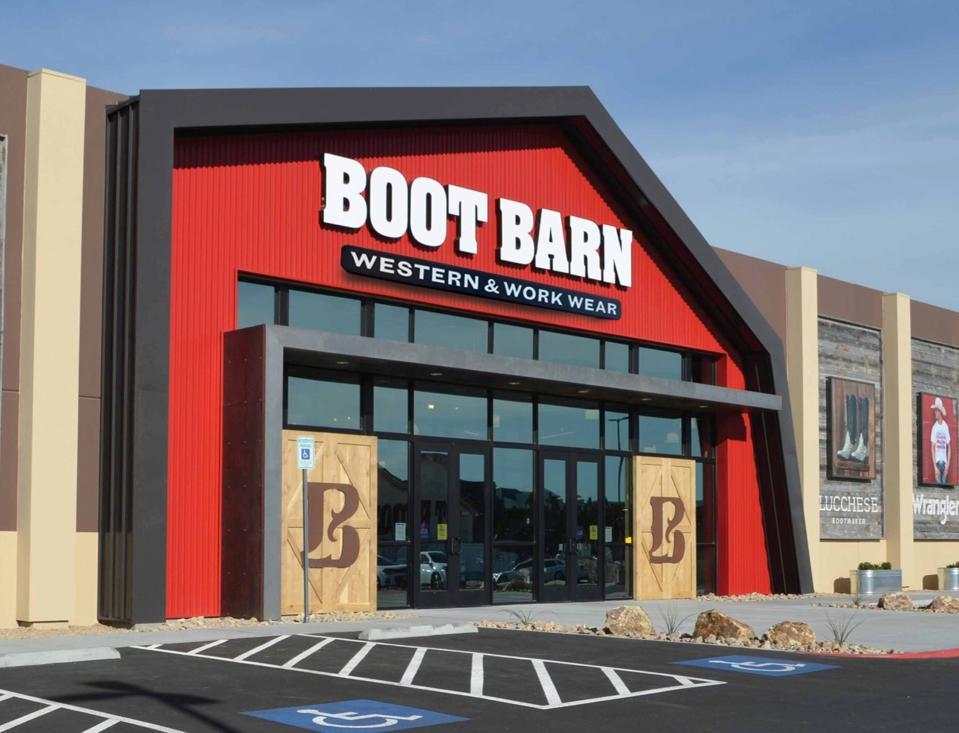 Boot Barn Exterior