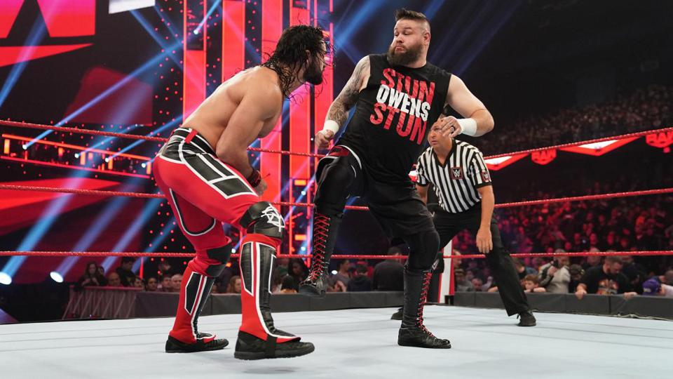 WWE Royal Rumble 2020: Kevin Owens and Seth Rollins