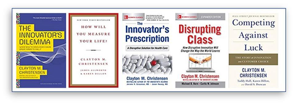 Books by Clayton Christensen