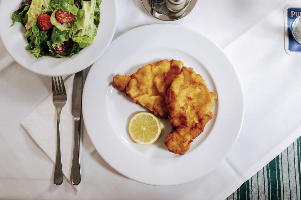 Vienna Austria Wiener Schnitzel