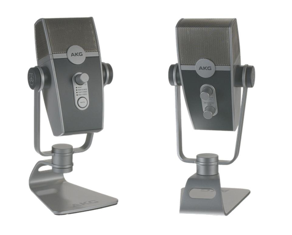 Lyra mic front and back