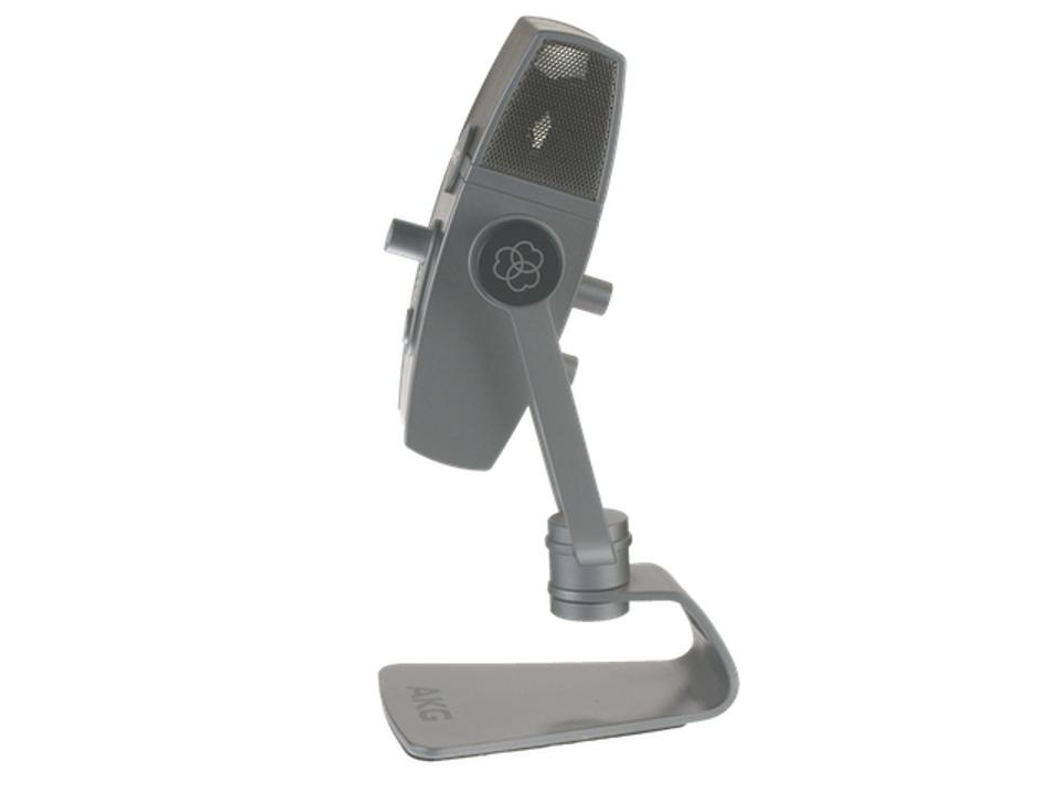 Side view of AKG Lyra microphone