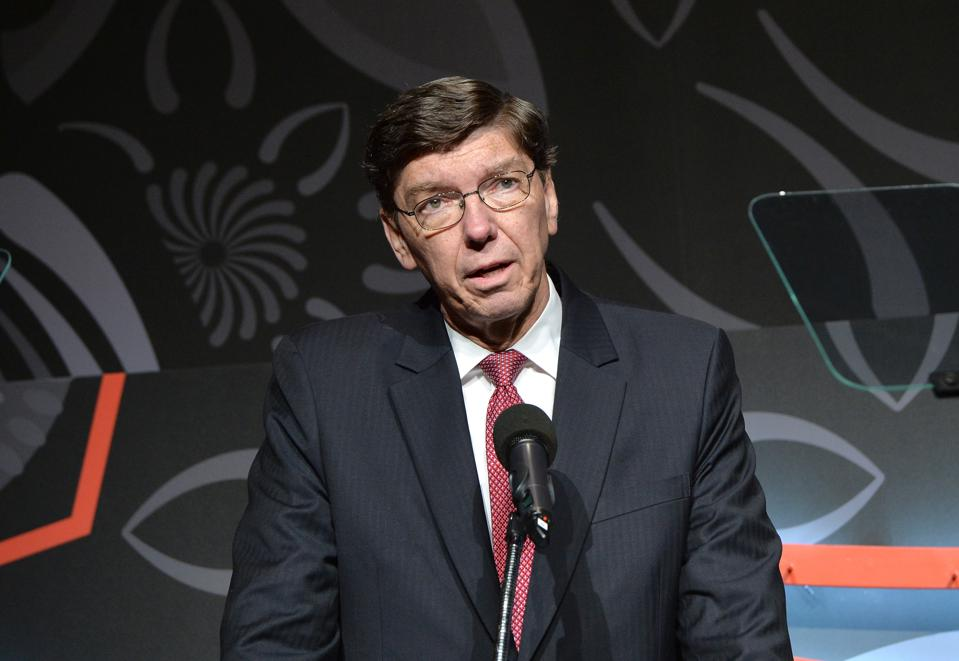 Clayton Christensen, Who Changed The Business World With His Theory Of 'Disruptive Innovation,' Dies At 67