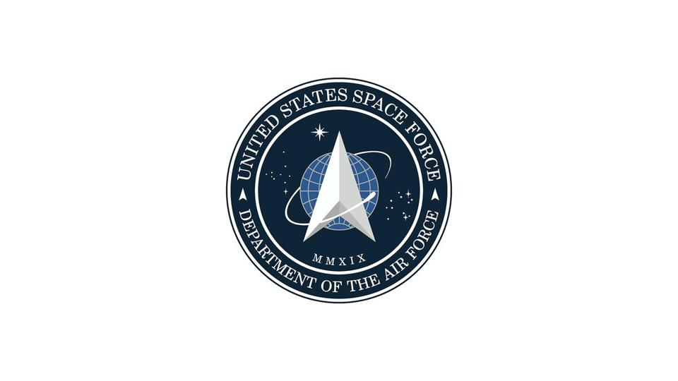 President Trump unveiled the Space Force logo via Twitter on Friday.