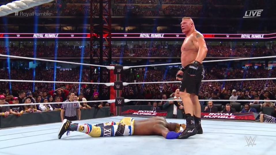 WWE Royal Rumble 2020: Brock Lesnar and Kofi Kingston