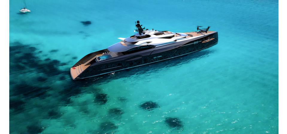 Project Centauro supoeryacht concept