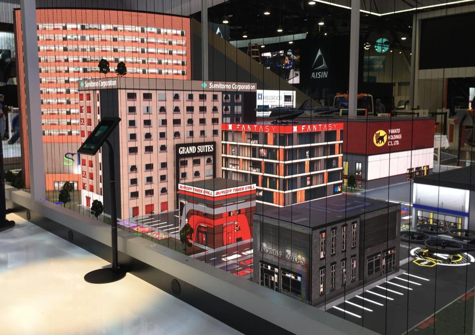 Bell Nexus City with drones navigating weather events at CES 2020