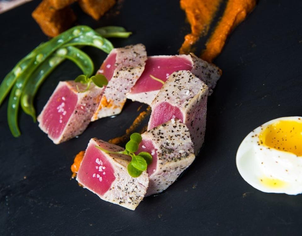 Fresh seafood prepared daily by Marigot Bay Resort & Marina,