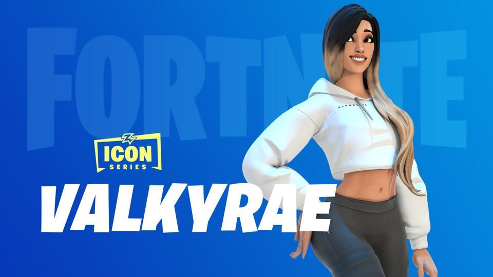 Valkyrae skin concept