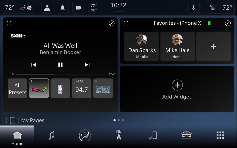 FCA's new Uconnect 5 infotainment is built on Android Automotive and features a reconfigurable card-style interface