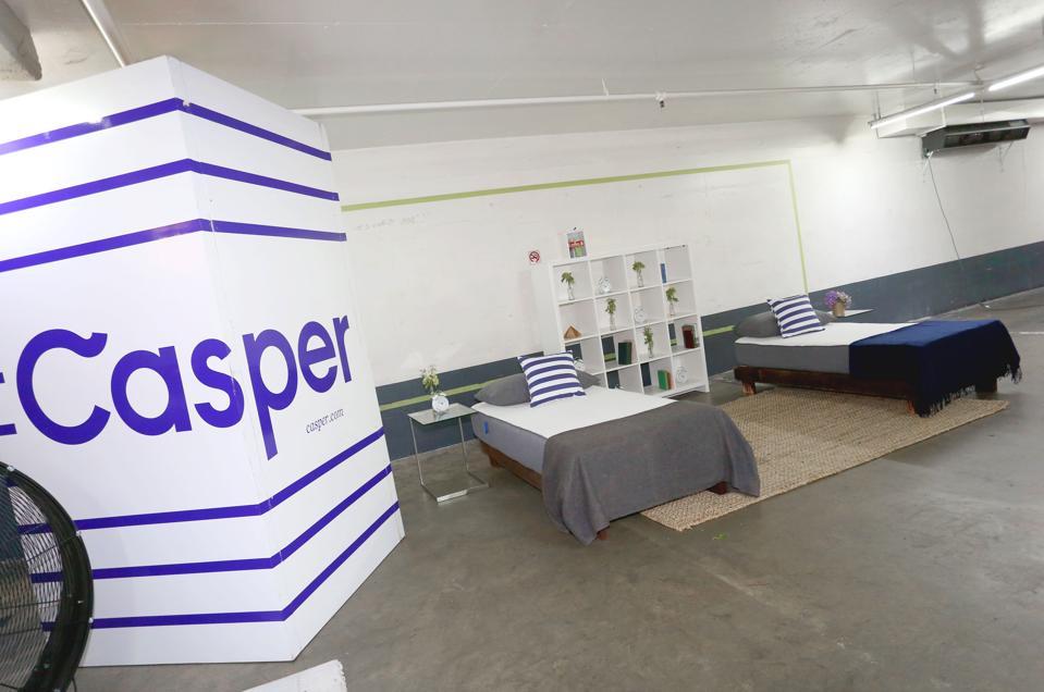 Casper Celebrates In LA