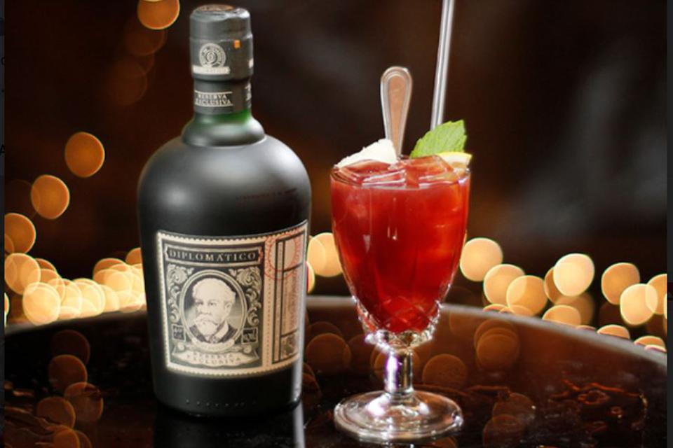 Rum punch from Diplomatico