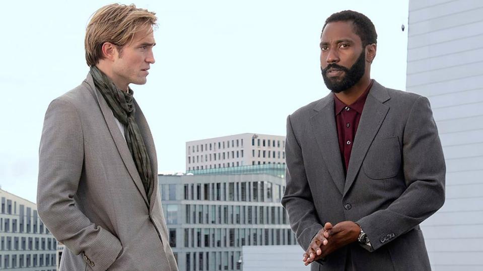 Robert Pattinson and John David Washington in Chris Nolan's 'Tenet'