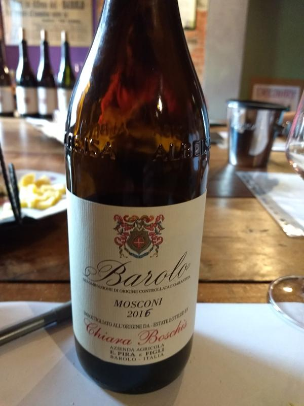 So perfume-y in the nose with warm, soft dark red fruit. It is showing great power and balance and will go wonderfully with meats and Bolognese sauce. Hold it for two years and drink over the next 25.