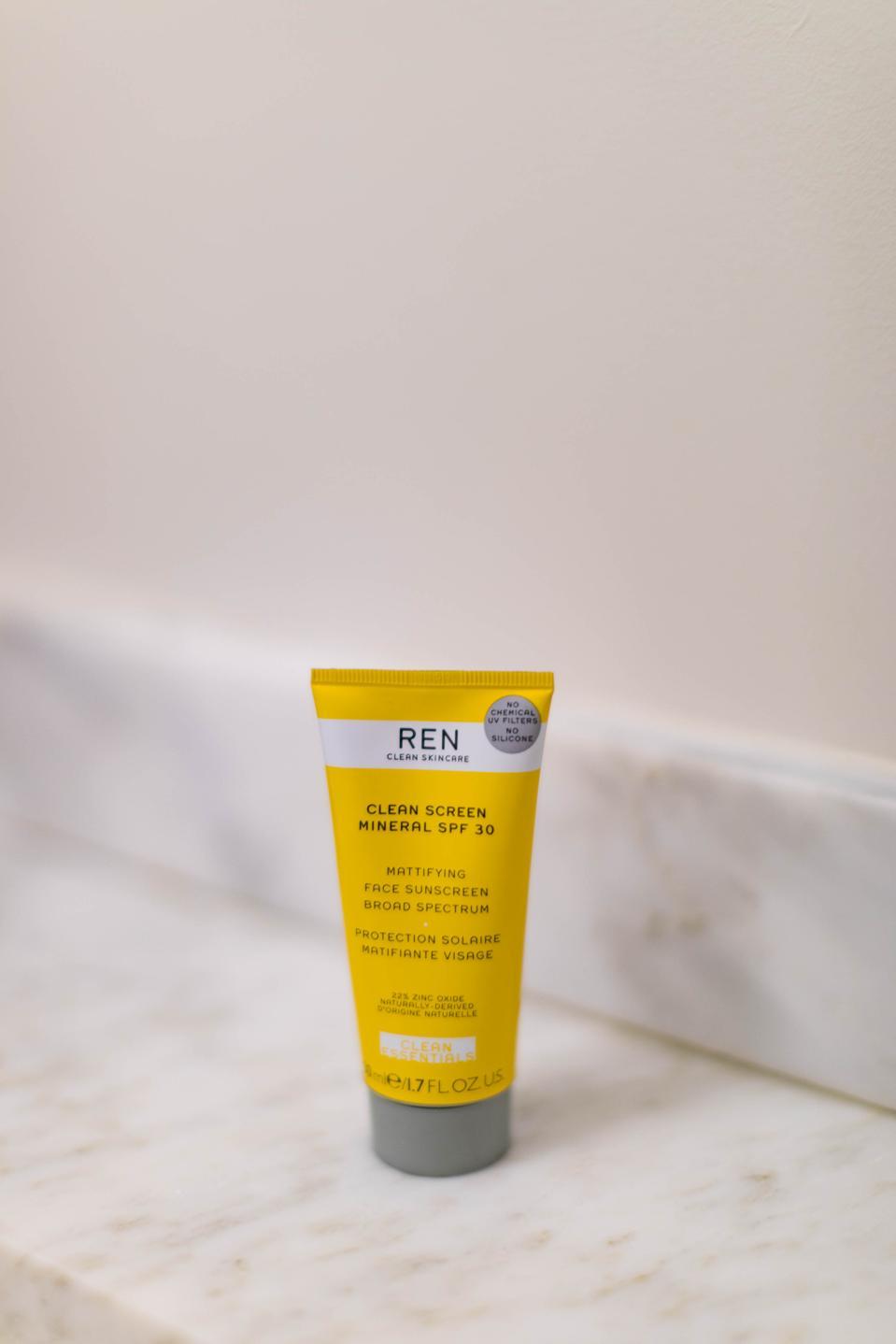 Clean Sunscreen – Ren