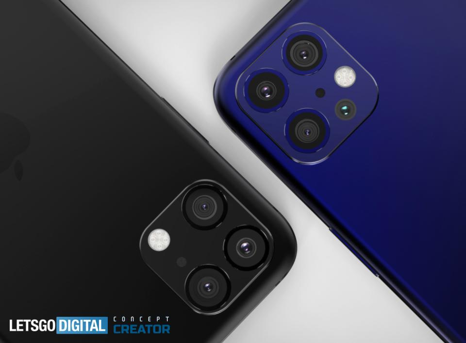 iPhone 12 Pro and iPhone 12 Pro Max, Concept images