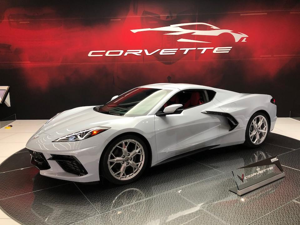 Revolutionary Corvette's Mid-Engine V8 And Right-Hand-Drive Grab Attention In Japan